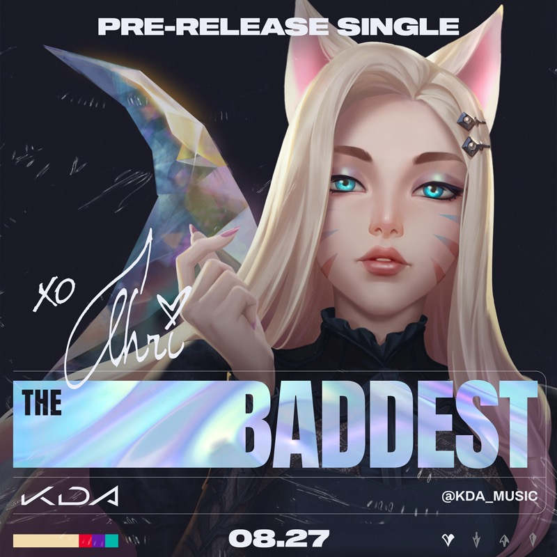 K/DA, el aclamado grupo virtual de pop de League of Legends, regresa con nueva canción - kda-ahri