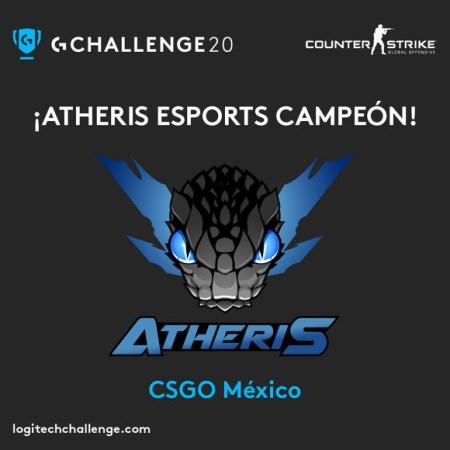 Logitech G Challenge 2020: Atheris Esports se llevó el título de campeón en CS:GO