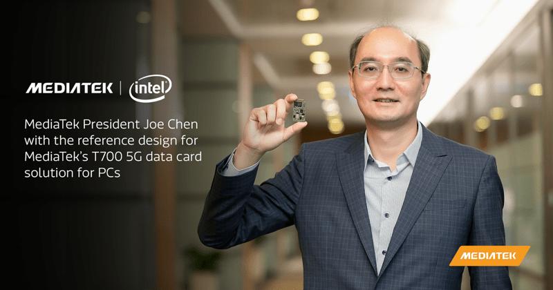 MediaTek e Intel en alianza para llevar 5G a la próxima generación de PC - mediatek-intel-800x420