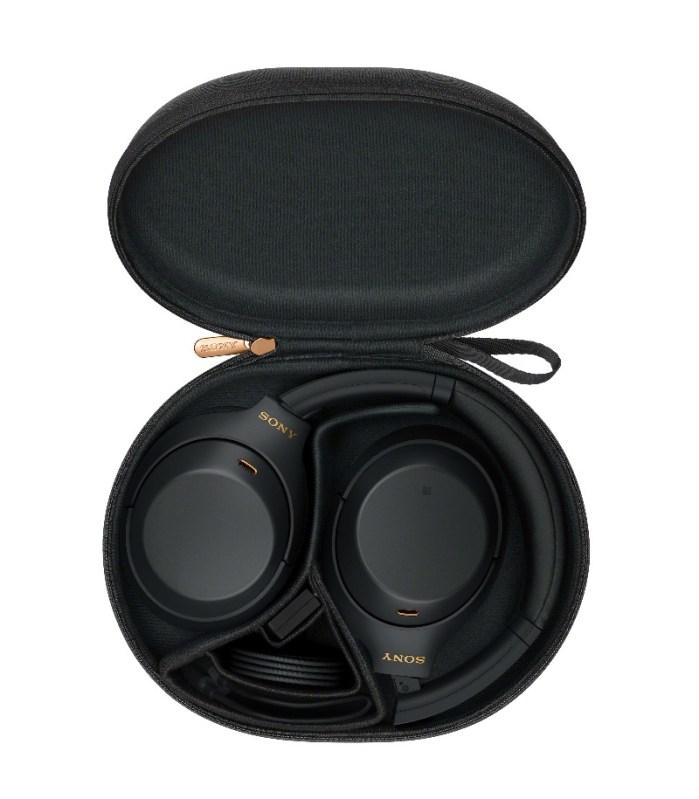 Sony lanza los audífonos inalámbricos WH-1000XM4 con cancelación de ruido - wh-1000xm4_b_with_case-large