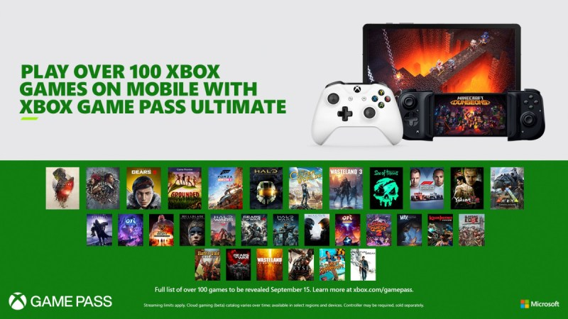 Xbox Project xCloud: disponible el 15 de septiembre, será parte de Game Pass Ultimate - xbox-project-xclud
