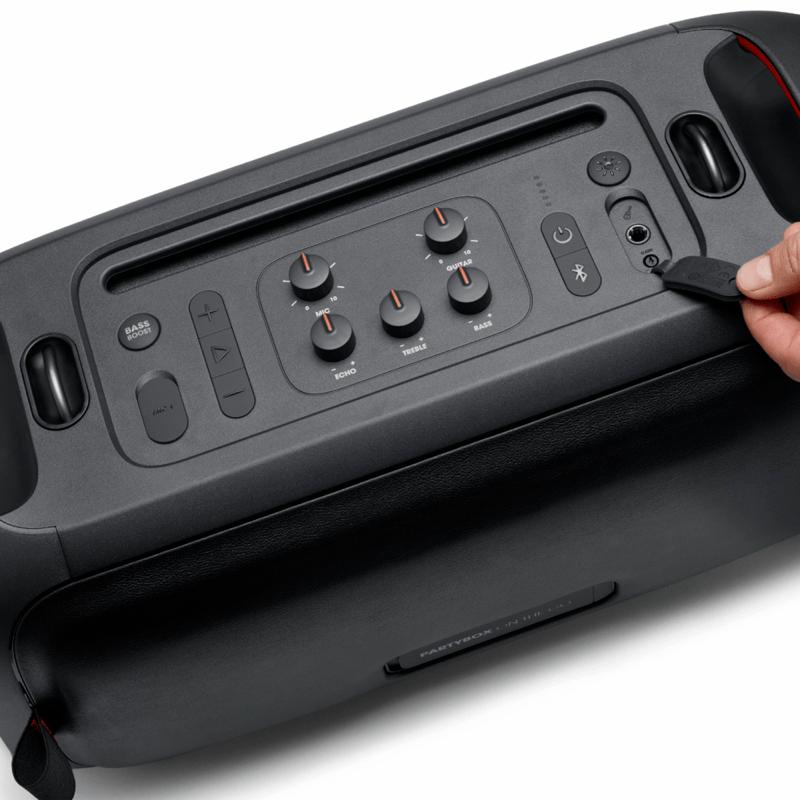 IFA 2020: Nueva gama en auriculares y altavoces JBL y Harman Kardon - altavoz-jbl-partybox-on-the-go