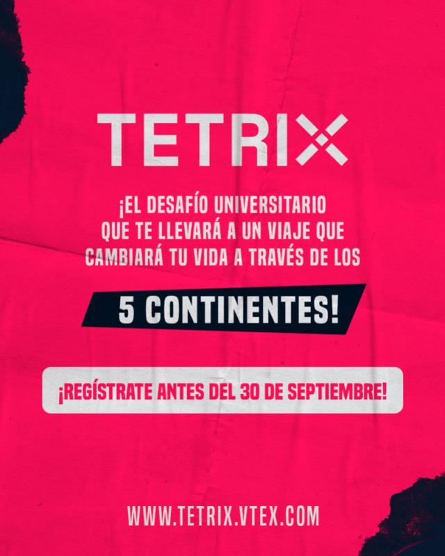 Convocan a universitarios en desafío TETRIX para para conectarlos con el e-commerce