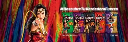 """Nueva colección de empaques """"DORITOS Wonder Woman 1984"""""""