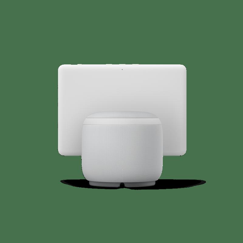 Nuevos Echo, Echo Dot y Echo show 10: diseños renovados y calidad de audio mejorada - echoshow10blanco