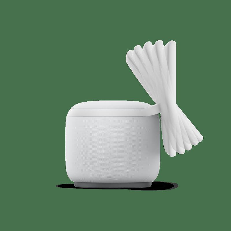 Nuevos Echo, Echo Dot y Echo show 10: diseños renovados y calidad de audio mejorada - echoshow10lado