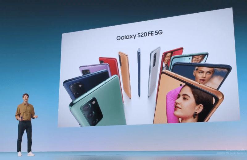 Galaxy S20 FE, nuevo smartphone de Samsung con colores vibrantes y características premium - galaxy-s20-fe-5g-800x518