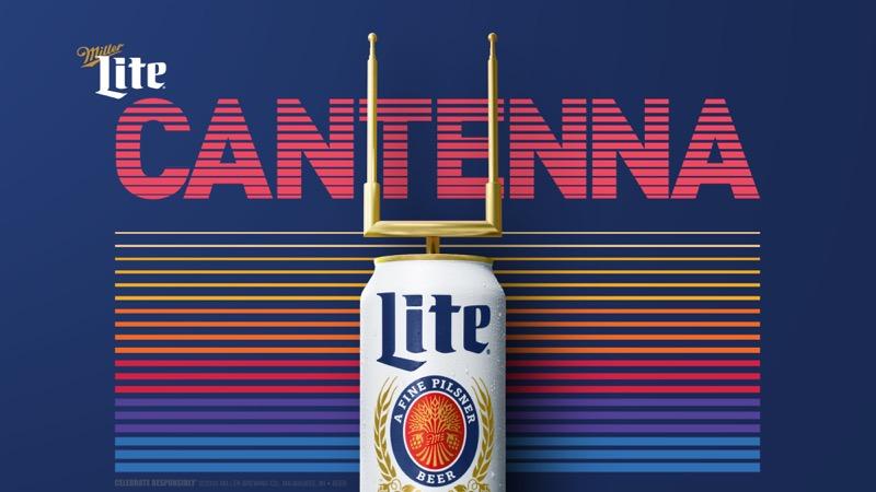 Vea fútbol americano con antena que también sirve cerveza - miller-lite-cantenna_cantenna_concept_pr_16x9-800x450