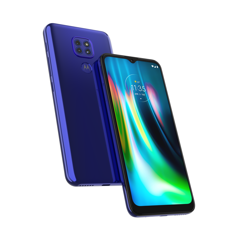 moto g9 play y moto g9 plus ¡ya disponibles con AT&T! - moto_g9_play_blue