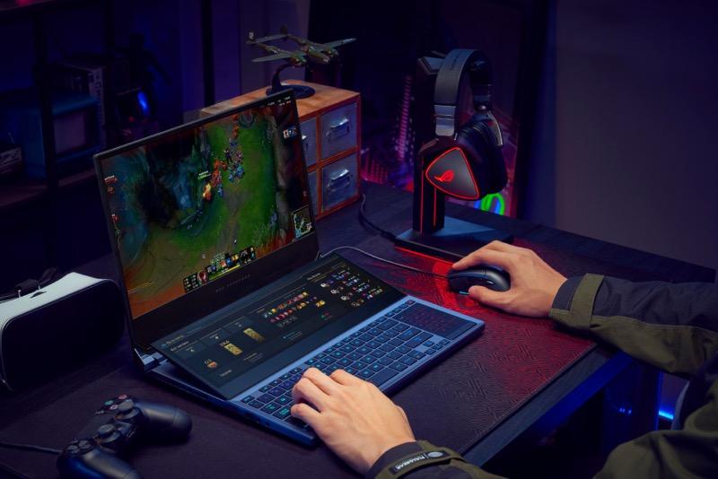 Zephyrus Duo 15, la laptop con doble pantalla para gaming llega a México - rog_zephyrus_duo_15_gx550_asus