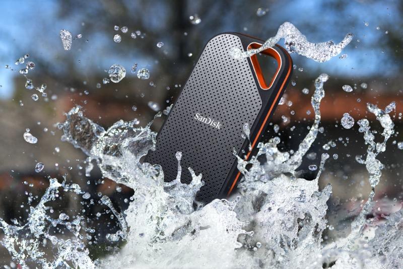 Western Digital lanza línea mejorada de unidades SSD SanDisk Extreme portátiles - sandisk_extreme_pro_portable_ssd_splash