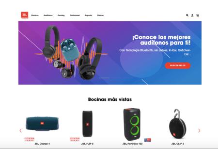 JBL anuncia el lanzamiento de su tienda en línea en México