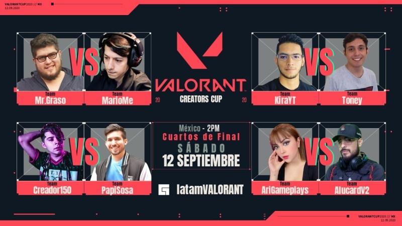 Fin de semana: VALORANT Creators Cup - valorant-creators-cup-800x450