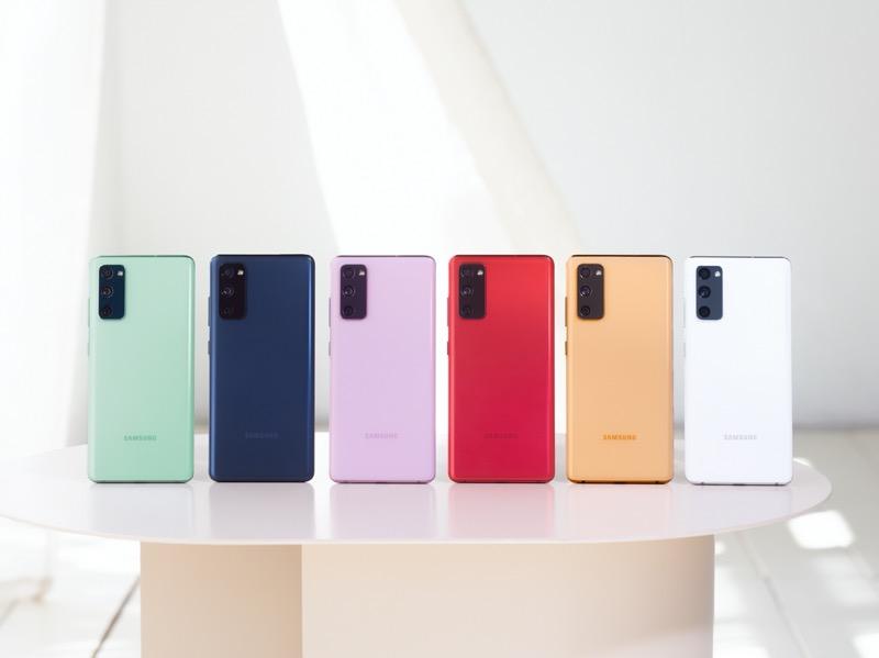 Inicia preventa del Galaxy S20 Fan Edition (S20 FE) en México - 1-galaxy-s20-fe_colors-800x599