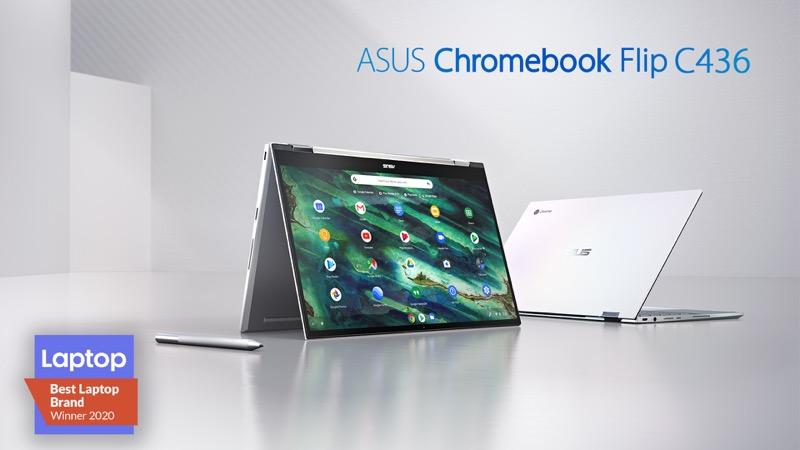 ASUS Chromebook Flip C436, equipo elegante, minimalista y se transforma en modo Tablet