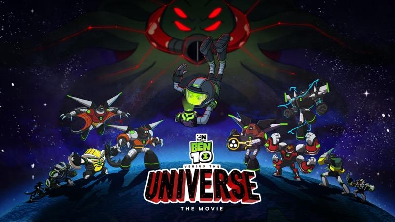 ¡Ben 10 versus El Universo: La Película llega a Cartoon Network!