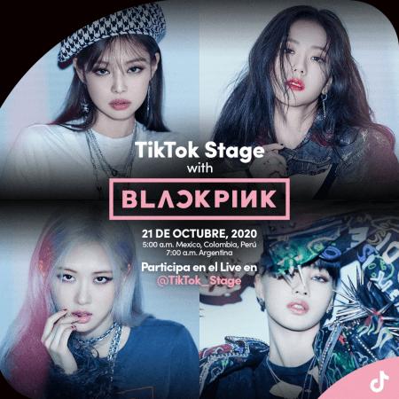 BLACKPINK, bandas de K-pop, conectará en vivo con sus fans en TikTok