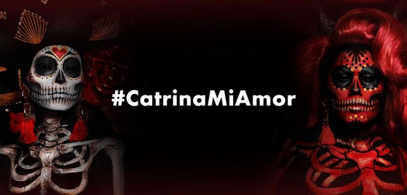Participa en el desafío #CatrinaMiAmor en TikTok y gana hasta $5,000 en maquillaje profesional - catrina_mi_amor-800x383
