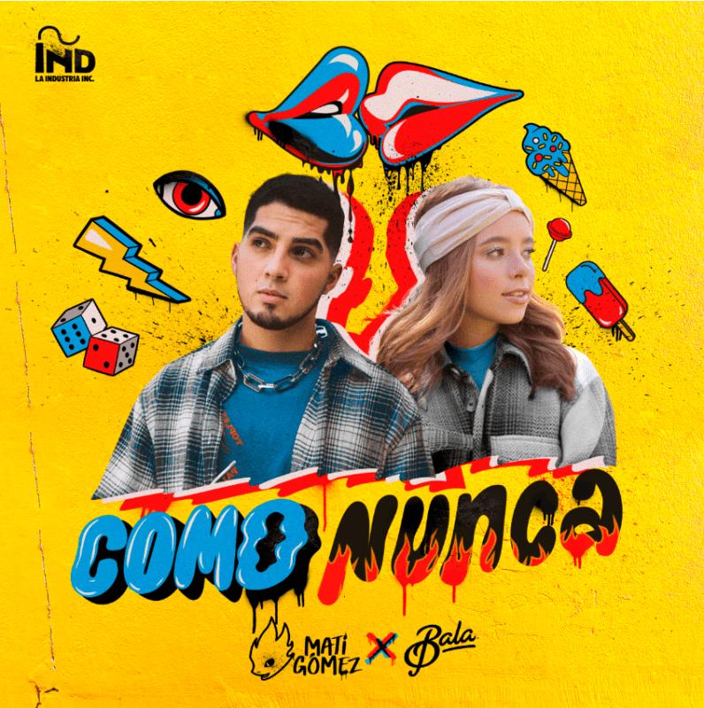 Nickelodeon anuncia el estreno de Como Nunca, el nuevo sencillo de Mati Gómez y Bala - como-nunca-796x800