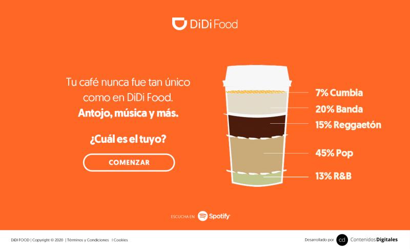 DiDi Food, Starbucks y Spotify brindarán unas experiencia únicas - didi-food-starbucks_spotify-800x485