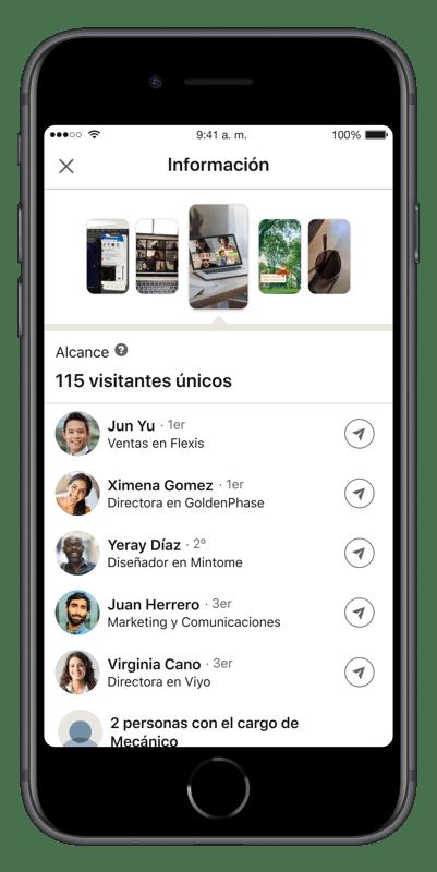 Historias de LinkedIn llegó a México - historias_linkedin_mexico_insights-401x800