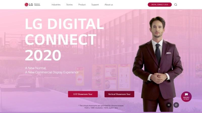 LG Digital Connect 2020, explora la tecnología más avanzada de señalización digital - lg_digital_connect_2020-800x450