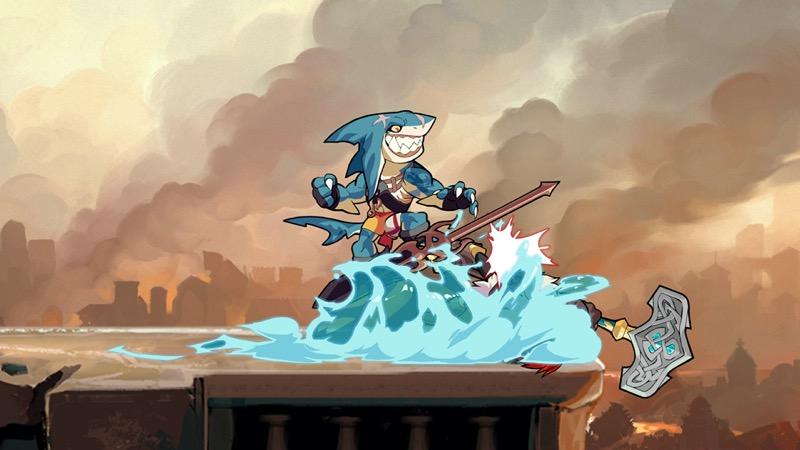 La Nueva Leyenda de Brawlhalla, Mako el Tiburón, ¡ya disponible! - mako_base2-800x450