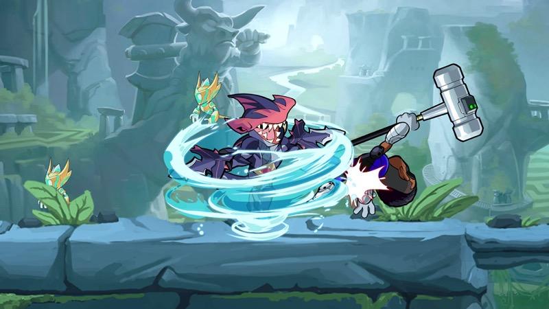 La Nueva Leyenda de Brawlhalla, Mako el Tiburón, ¡ya disponible! - mako_skin2-800x450
