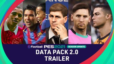 ¡Ya está disponible el paquete de datos 2.0 de eFootball PES 2021!