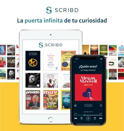 Scribd celebra un año en México con un crecimiento de suscriptores
