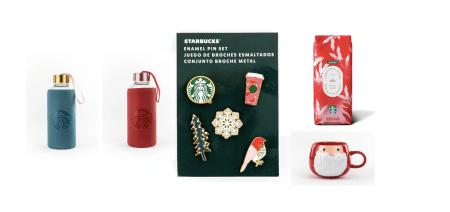Starbucks revela algunas sorpresas para la época decembrina