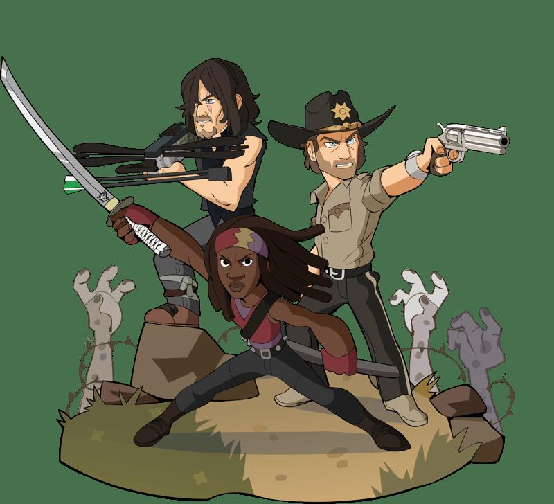 Los personajes más icónicos de The Walking Dead, se unen a Brawlhalla como Crossovers Épicos el 14 de octubre - walkingdead-800x728