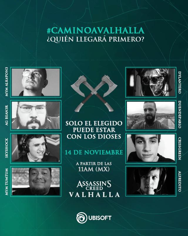 Stream especial del estreno de Assassin's Creed Valhalla  ¡gana increíbles premios! - camino-al-valhalla-assassins-creed-valhalla-640x800