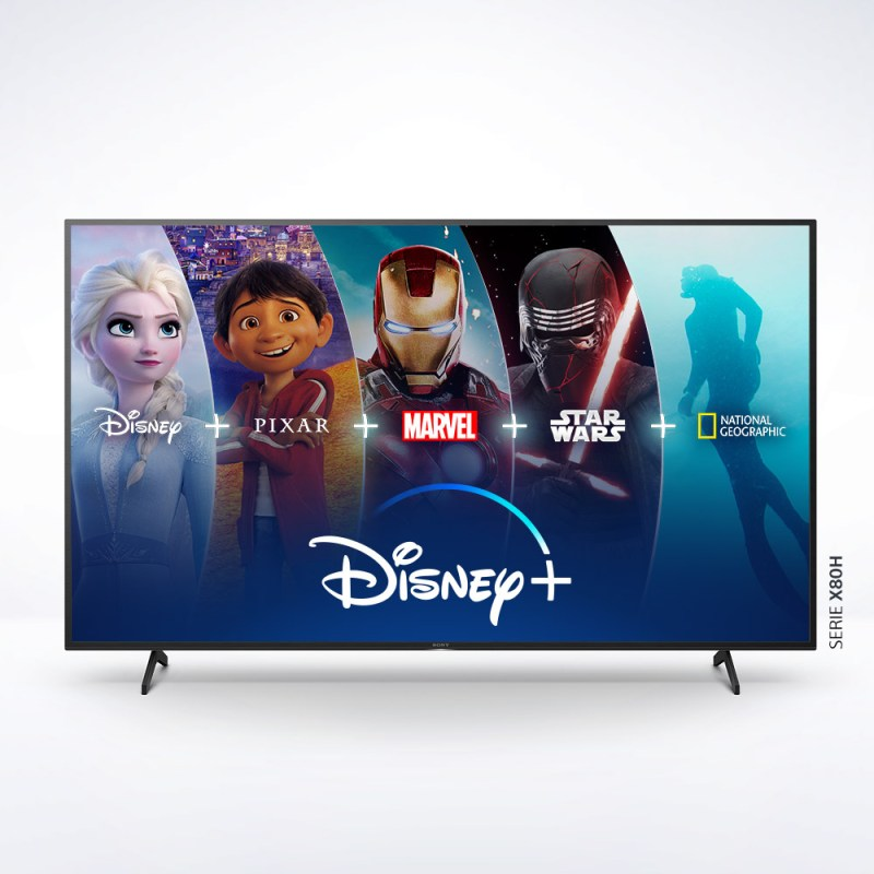 Disney Plus disponible en los televisores Sony BRAVIA con Android TV - disney-plus-televisores-sony-800x800