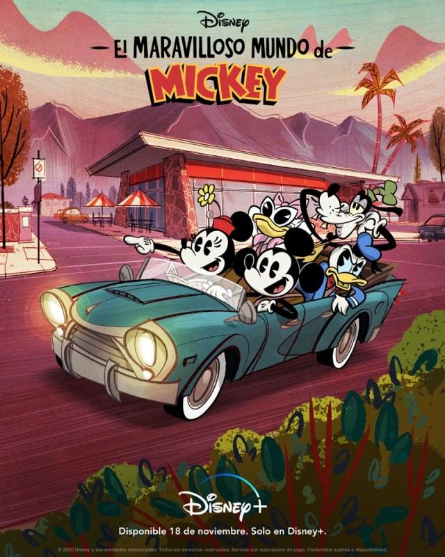 ¡Feliz Cumple Mickey! Estreno: El maravilloso mundo de Mickey en Disney+ - el-maravilloso-mundo-de-mickey-disney-640x800