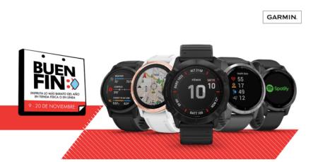Garmin con descuentos en sus smartwatches en El Buen Fin 2020