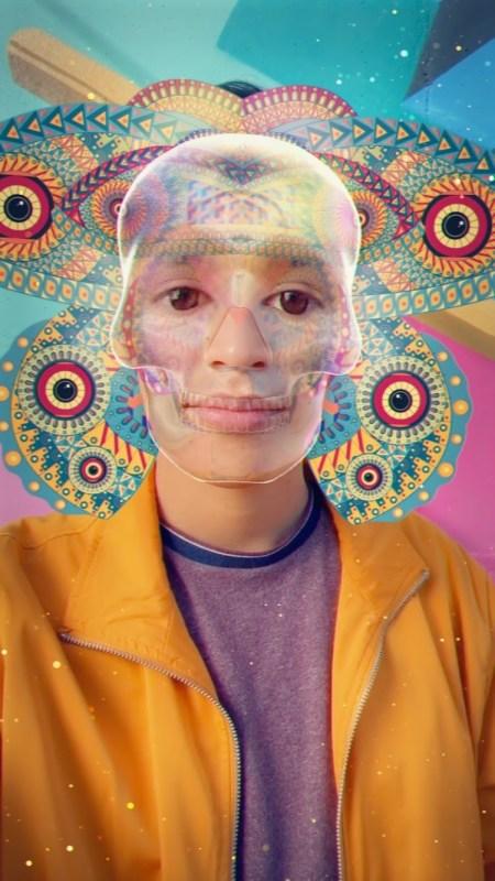 Snapchat en Día de Muertos: realidad aumentada y artistas mexicanos - model-2