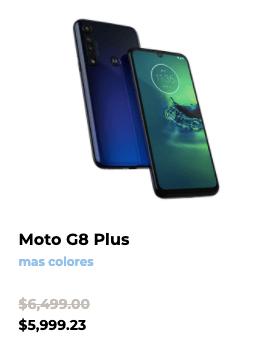 Las promociones de Motorola este Buen Fin 2020 - moto-g8-plus-buen-fin