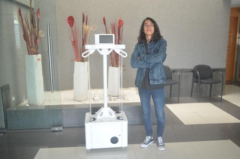 Alumno del Tec de Monterrey crea OZVI, sanitizante a base de ozono y luz UV