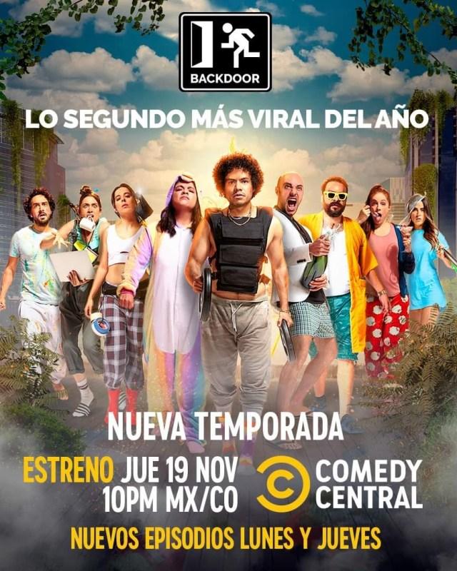 Estreno segunda temporada Backdoor por Comedy Central y completa disponible por Amazon Prime Video - segunda-temporada-backdoor-640x800