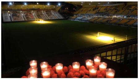 Wolves rinden homenaje en «Día de Muertos»