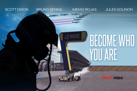 """Claro video y el piloto Memo Rojas presentan el documental """"Become who you are"""""""