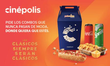 DiDi Food y Cinépolis se unen para llevar los mejores clásicos a la puerta de tu casa