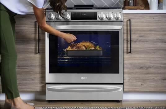 CES 2021: Estufa InstaView LG con Air Sous Vide ¡cambiará la cocina en casa! - estufa_instaview_de_lg