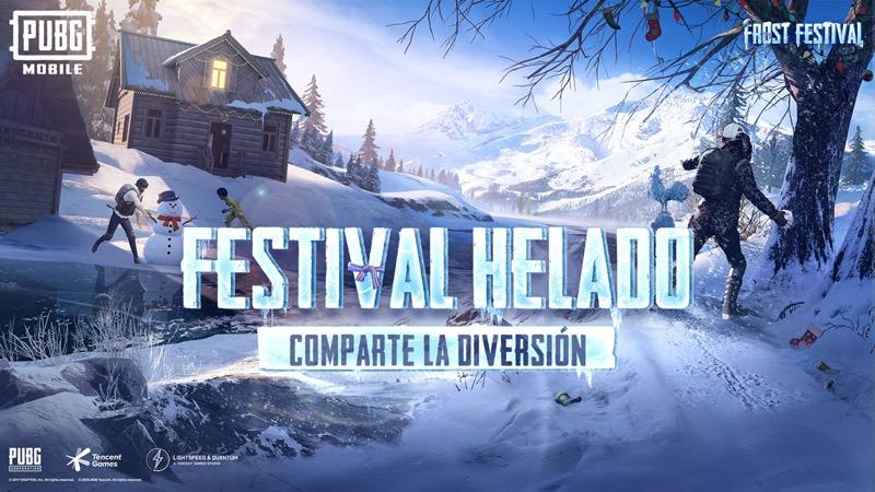 """El """"Festival Helado"""" de PUBG MOBILE comparte la diversión de las fiestas en Erangel - festival-helado-pubg-mobile-800x450"""
