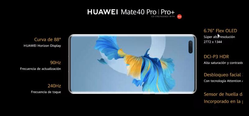 HUAWEI Mate 40 Pro llega a México ¡ Estas son sus características y precio! - huawei-mate-40-pro