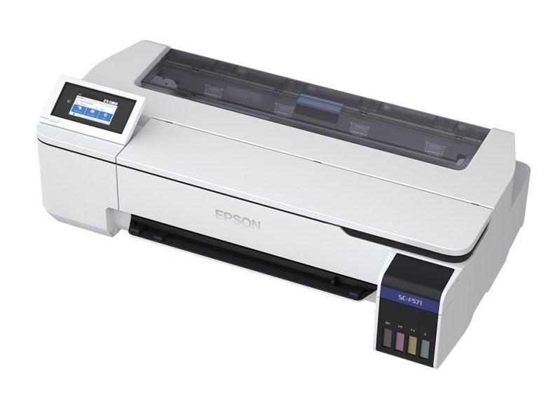 Impresoras de sublimación Epson, para que emprendas tus propósitos del 2021 - impresoras_de_sublimacion_surecolor_f570_f571_epson_f571left2
