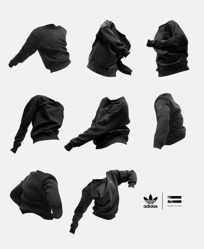 """adidas y Pharrell Williams anuncias su colección colaborativa """"Pharrell Williams Triple Black"""" - pharrell_williams_triple_black_1-654x800"""