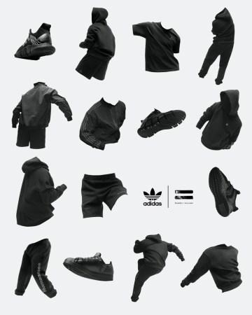 adidas y Pharrell Williams anuncias su colección colaborativa «Pharrell Williams Triple Black»