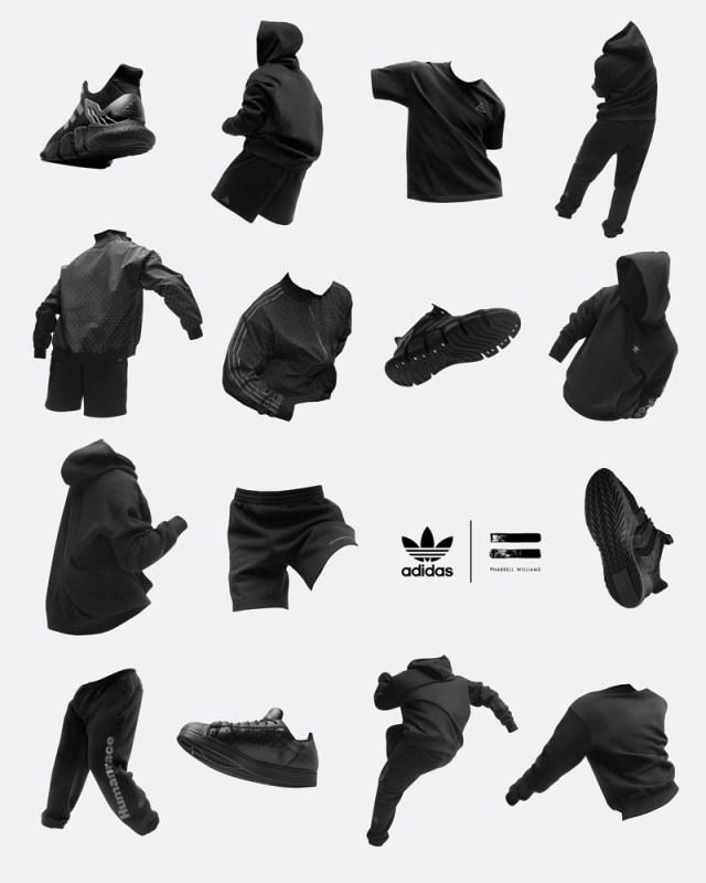 """adidas y Pharrell Williams anuncias su colección colaborativa """"Pharrell Williams Triple Black"""" - pharrell_williams_triple_black_4-640x800"""